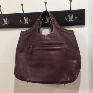 4663de12ef Women s Red Leather Handbags On Sale on Poshmark